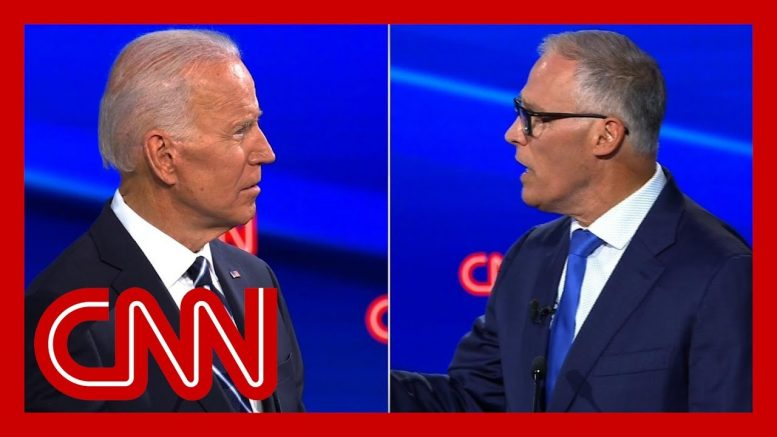 Jay Inslee blasts Joe Biden on climate plan: Our house is on fire 1