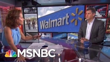 NYT Columnist Asks Walmart CEO To Use His Clout To Curb Gun Violence | Velshi & Ruhle | MSNBC 6