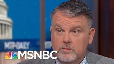 Rasmussen: 'Absolutely None Of My Time' In Gov. Was Spent On Domestic Terrorism | MTP Daily | MSNBC 10
