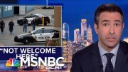 Democrats Tell Donald Trump He Is 'Not Welcome' In El Paso | The Beat With Ari Melber | MSNBC 4