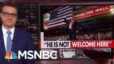 'This Sucking Moral Vacuum At The Top Of The Country' | All In | MSNBC 10