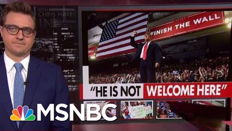 'This Sucking Moral Vacuum At The Top Of The Country' | All In | MSNBC 1