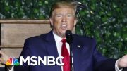 A New President Donald Trump Teleprompter Phenomenon | All In | MSNBC 4