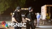 FBI Investigating TX And CA Shootings As Domestic Terrorism | Velshi & Ruhle | MSNBC 4