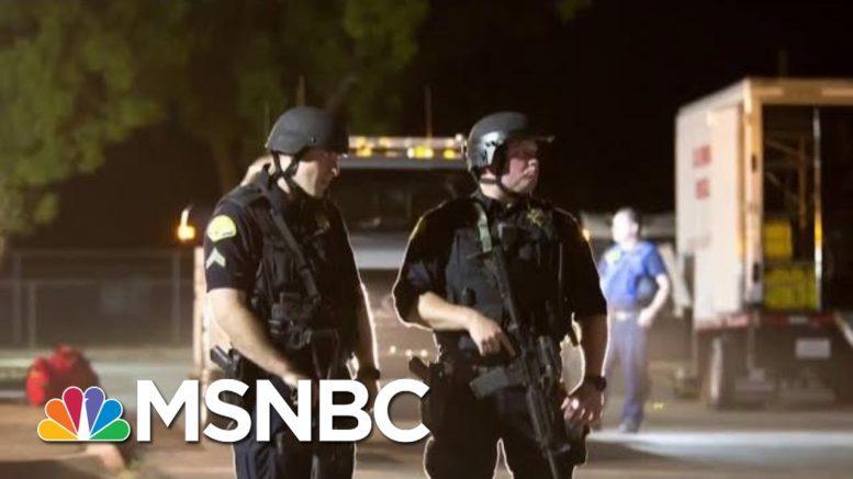 FBI Investigating TX And CA Shootings As Domestic Terrorism | Velshi & Ruhle | MSNBC 1