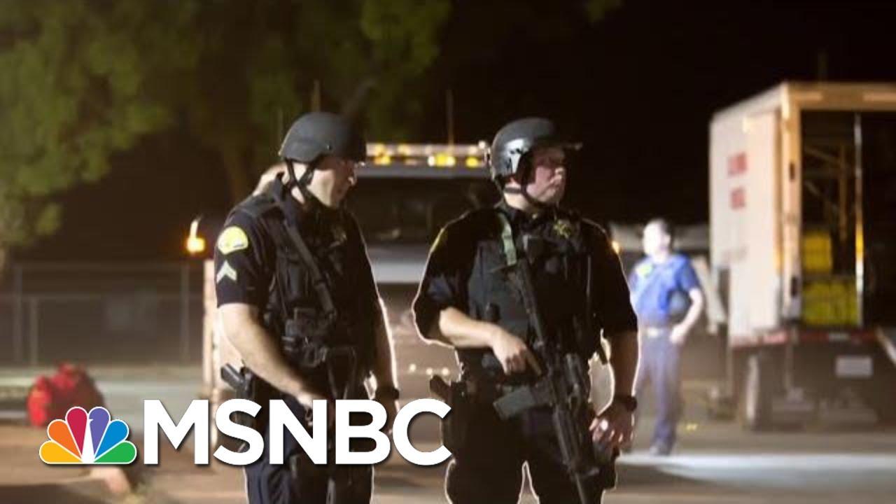 FBI Investigating TX And CA Shootings As Domestic Terrorism   Velshi & Ruhle   MSNBC 8
