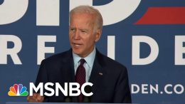 Former Vice President Joe Biden Claims Trump's Rhetoric Is About 'The Abuse Of Power' | MSNBC 6