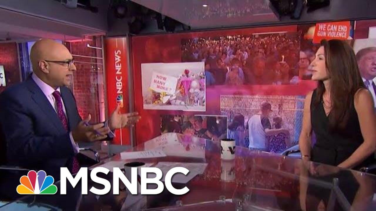 A Closer Look At The Politics Of Guns   Velshi & Ruhle   MSNBC 6