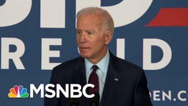 Joe Biden Calls Out Donald Trump For Lack Of 'Moral Leadership' | Deadline | MSNBC 6