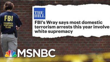 Tucker Carlson's Race 'Hoax' Shredded By FBI Director's Facts | The Beat With Ari Melber | MSNBC 5