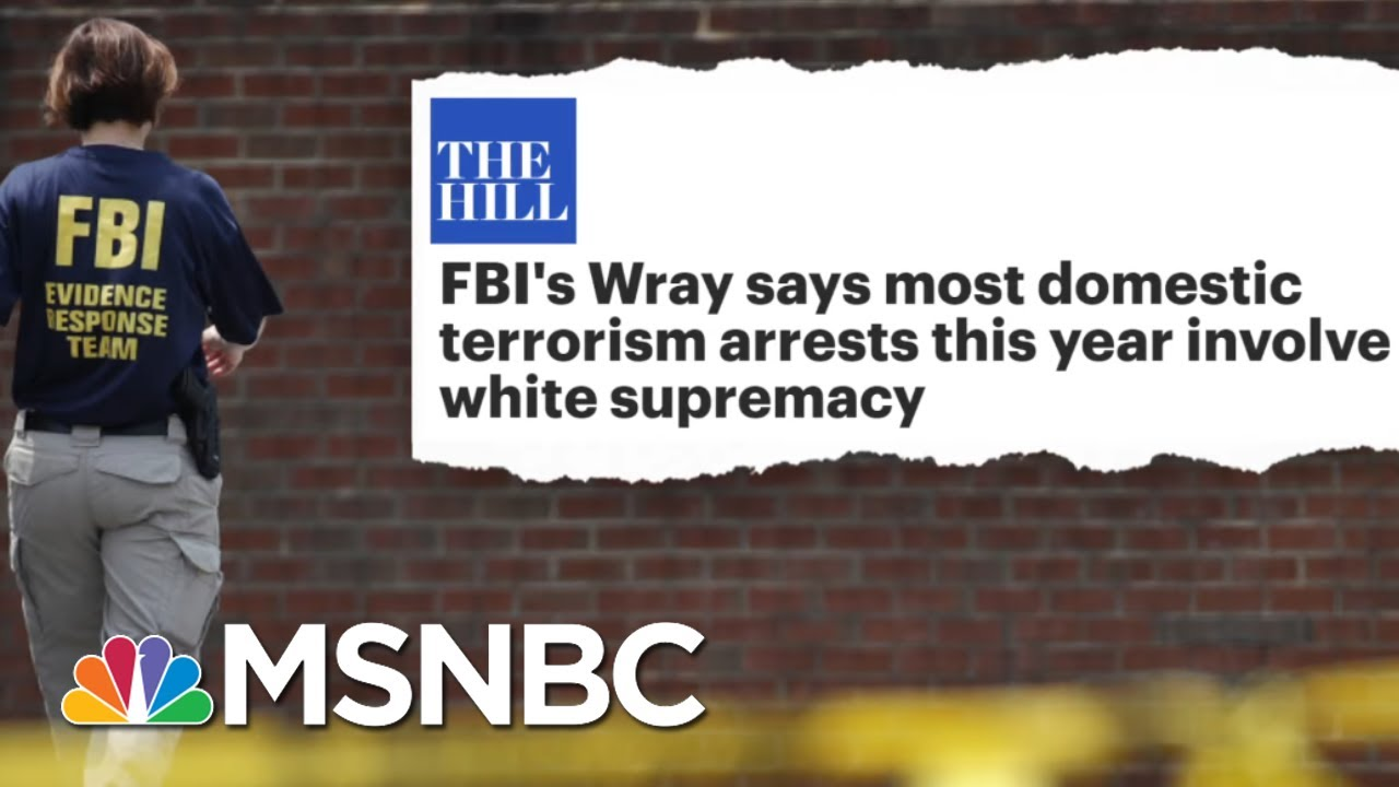 Tucker Carlson's Race 'Hoax' Shredded By FBI Director's Facts   The Beat With Ari Melber   MSNBC 5