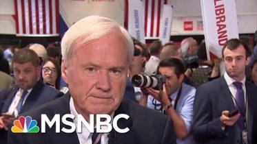 Chris Matthews: Biden Had To Play A Lot Of Defense Tonight | MSNBC 6