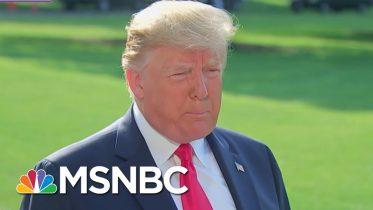 Donald Trump Greeted Like A 'Rock Star' While Visiting Mass Shooting Victims   The 11th Hour   MSNBC 6