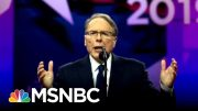 WAPO Report On NRA Boss's Extravagant Demands May Threaten Its Tax-Exempt | The 11th Hour | MSNBC 3