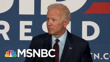 Joe Biden: President Donald Trump Fanned The Flames Of White Supremacy | The Last Word | MSNBC 6