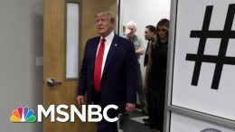 President Donald Trump Plays The Victim While Visiting Victims | Morning Joe | MSNBC 6