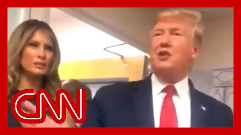 Trump brags about crowd size during El Paso visit 1
