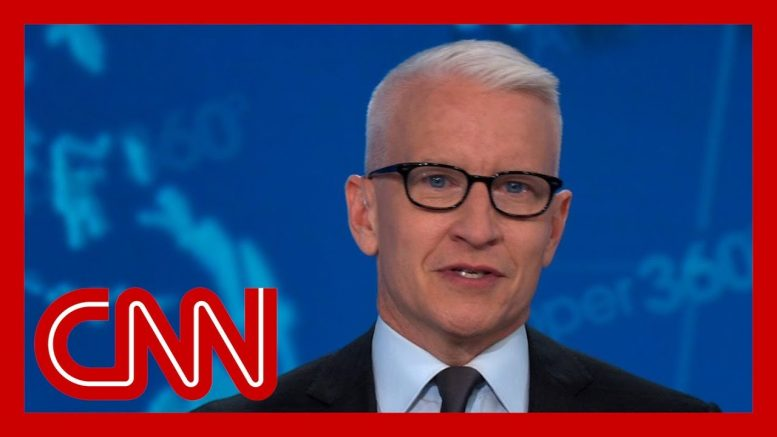 Anderson Cooper: Even pretending to care was too much for Trump 1