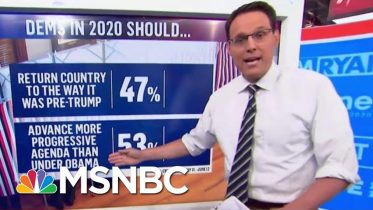 Steve Kornacki: More That Half Of Democrats Want A More Progressive President Than Obama | MSNBC 6
