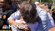 Donald Trump's Attempts At Consoling Pale In Comparison To 2020 Candidates | Deadline | MSNBC 4