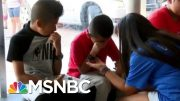 ICE Raid Leaves Kids Pleading For Their Parents' Freedom | The Beat With Ari Melber | MSNBC 4