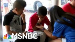 ICE Raid Leaves Kids Pleading For Their Parents' Freedom | The Beat With Ari Melber | MSNBC 9