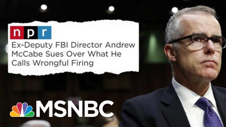 Fmr FBI Official Sues Trump For Unlawful, Unconstitutional Acts | The Beat With Ari Melber | MSNBC 1