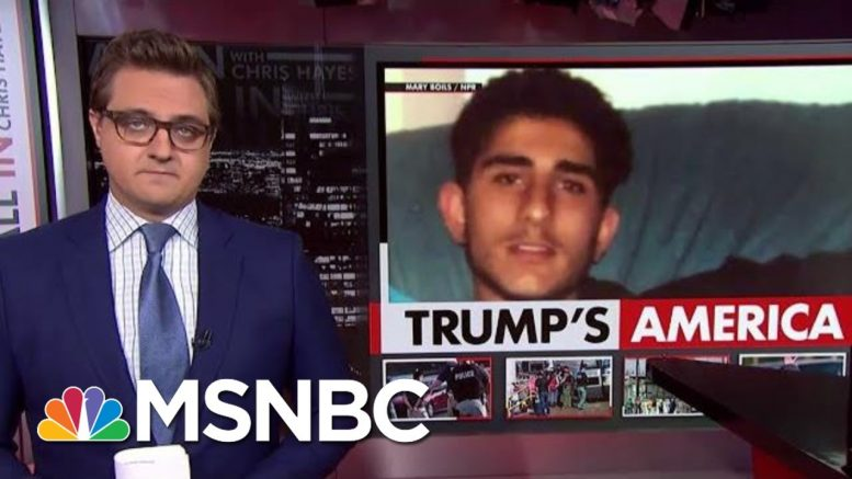 President Donald Trump Can't Help, So He Hurts | All In | MSNBC 1