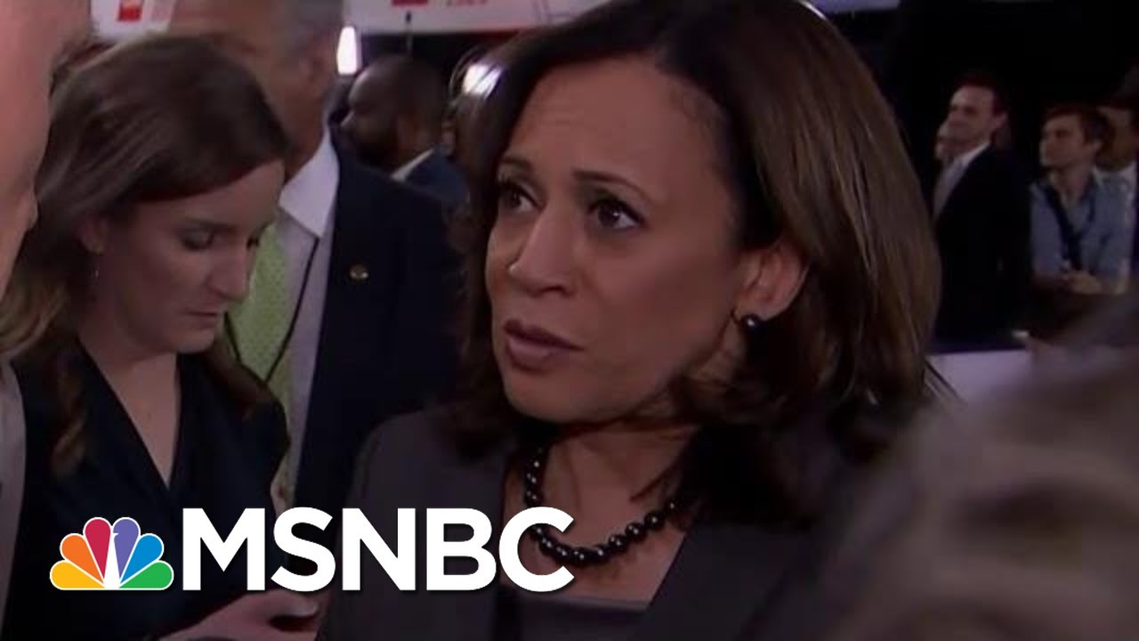 Senator Kamala Harris Says President Donald Trump Sowing Hate Is 'Making Us Weak' | MSNBC 3