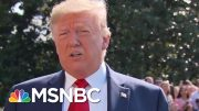 President Donald Trump: Mitch McConnell 'Is Totally On Board' With Background Checks On Guns | MSNBC 2