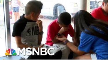 'Divider-In-Chief': Trump-Ordered ICE Raid Leaves Kids Crying | The Beat With Ari Melber | MSNBC 6