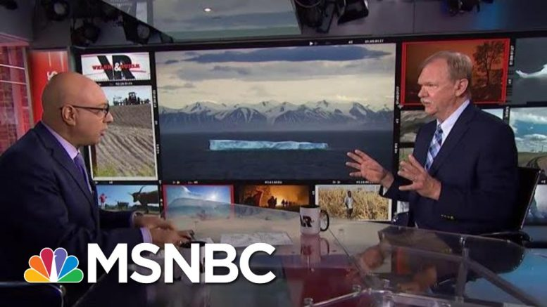 U.N. Warns Climate Change Could Trigger Global Food Crisis   Velshi & Ruhle   MSNBC 1