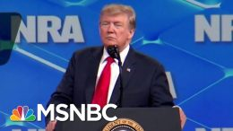 Donald Trump Echoes Previous Unfulfilled Promises On Gun Reform | Deadline | MSNBC 4