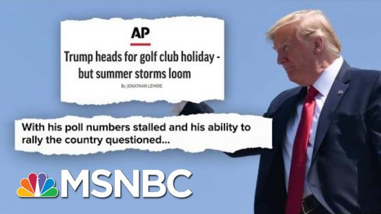 Golf, Twitter, And Cable News. What Could Go Wrong? | Deadline | MSNBC 1