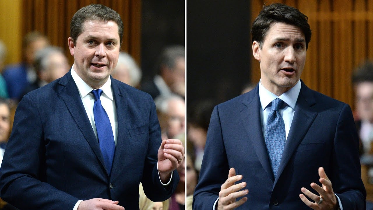 Trudeau, Scheer in dead heat ahead of federal election: poll 8