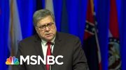 AG Barr: 'Serious Irregularities' In Facility Where Jeffrey Epstein Died | Craig Melvin | MSNBC 3