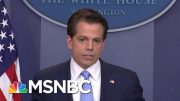 Why You Shouldn't Trust Anthony Scaramucci's Criticism Of Donald Trump | The Last Word | MSNBC 3