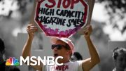 More Democratic 2020 Candidates Are Backing An Assault Weapons Ban | The 11th Hour | MSNBC 3