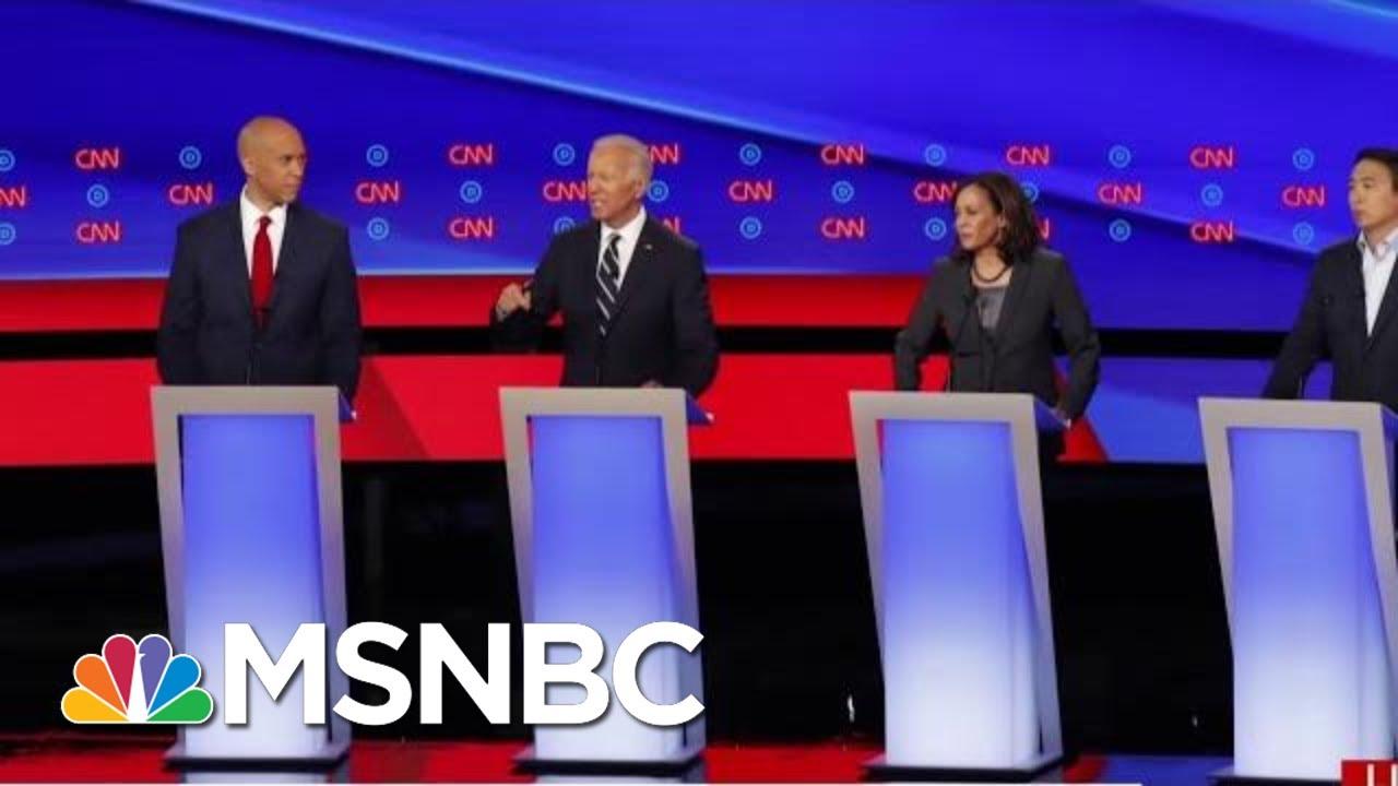 Former VP Joe Biden Delivers Fair Performance As Candidates Pile On | Morning Joe | MSNBC 1