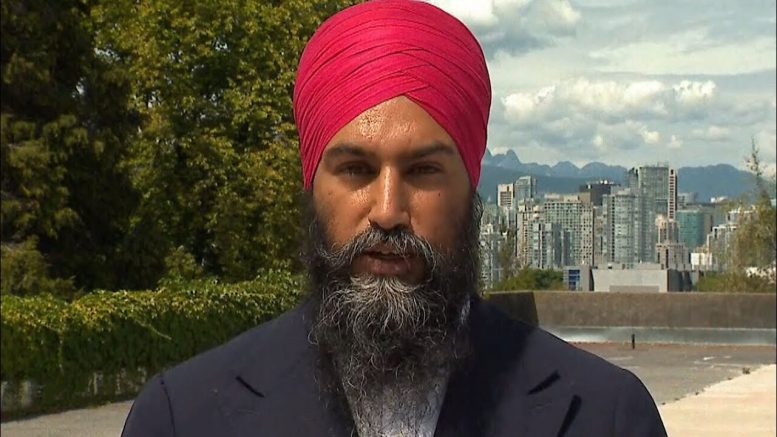 """We've got serious solutions"": NDP Leader Jagmeet Singh discusses his party's election platform 1"