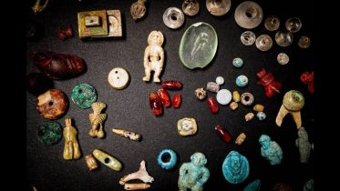 A 'sorcerer's treasure trove' was discovered in Pompeii 6