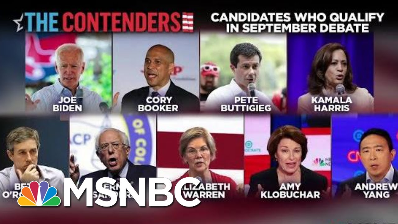 Which Democrats Could Still Make The Next Debate | Velshi & Ruhle | MSNBC 2