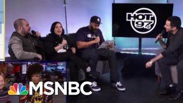 Da Brat Responds To Peter Rosenberg: 'He Can Kick Rocks' | The Beat With Ari Melber | MSNBC 6