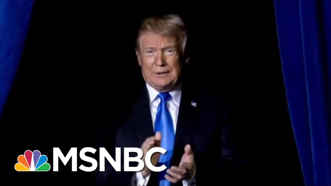 10 Days After 2 Mass Shootings Trump Focus On Conspiracy Theories & Culture Wars   Deadline   MSNBC 1