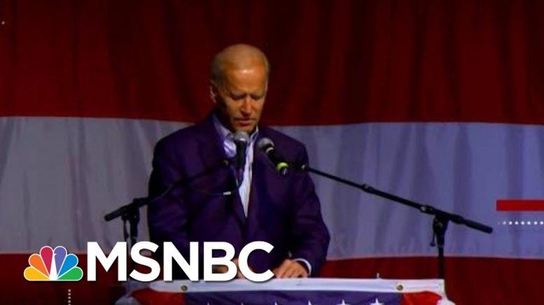 Biden Advisors Say The Former Vice President Faces An 'Unfair Double Standard' | Deadline | MSNBC 1