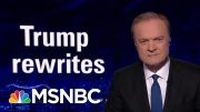The President Donald Trump Team Rewrites The Statue Of Liberty | The Last Word | MSNBC 5