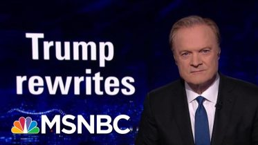 The President Donald Trump Team Rewrites The Statue Of Liberty | The Last Word | MSNBC 6