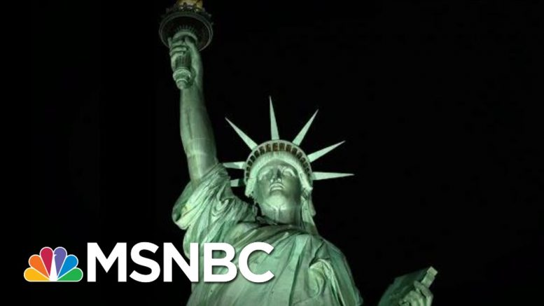 Ken Cuccinelli: 'Give Us Your Tired' Poem Referred To People From Europe   The 11th Hour   MSNBC 1