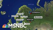 Radiation Containment A New Concern In Russian Nuclear Incident | Rachel Maddow | MSNBC 5