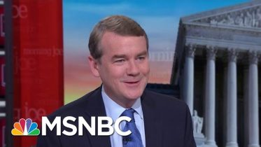 McConnell Will Move On Reform If Forced: Sen. Michael Bennet | Morning Joe | MSNBC 1